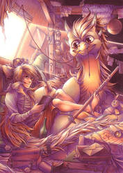 The attic of imagination by Aishishi