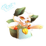 Frost the Oshawott (Commission) by Aishishi