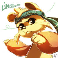 Lin the mienfoo by Aishishi