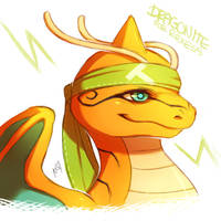 Dragonite for Rexess by Aishishi