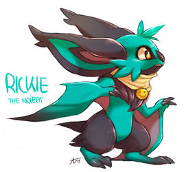 Rickie the Noibat by Aishishi