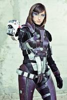 Commander Shepard cosplay II by Nebulaluben