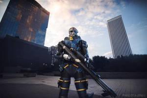 Garrus Vakarian Mass Effect 3 cosplay by Nebulaluben