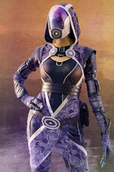 Tali cosplay by Nebulaluben