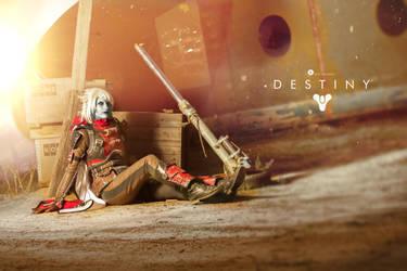 Destiny cosplay by Nebulaluben