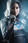 Destiny 2 huntress by Nebulaluben