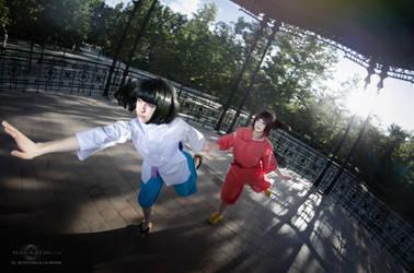 Spirited Away cosplay by Nebulaluben