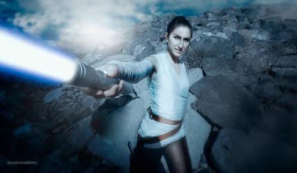 Rey cosplay (TLJ) by Nebulaluben