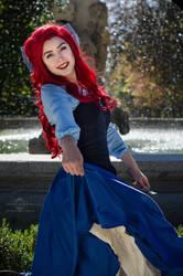 Ariel cosplay by Nebulaluben