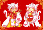 [OPEN 1/2: Set Price] Maneki-Neko Adopts by Yukikukeko