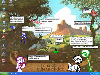 Road to Minas Tirith... again? by nesilverwing