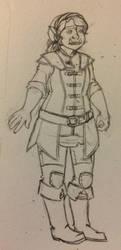 Terra Bloodgood, Half-orc Cleric, total sweetheart by nesilverwing