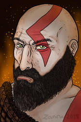 Kratos by Zanru