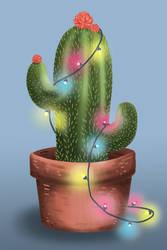 Christmas Cactus by Zanru