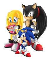 Sonic Family by capdevil13