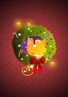 Christmas Wreath by capdevil13