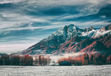 mountain by elopan