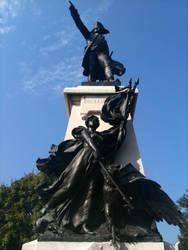 Rochambeau and the Goddess Nike by 44NATHAN