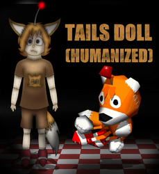 Tails Doll (Humanized) by MarcosVargas