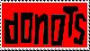 DONOTS - Stamp by xXseadragonXx