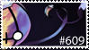 Chandelure stamp by cheetahprince