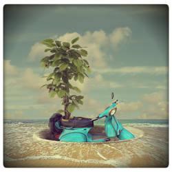 Vespa Tree by beyzayildirim77