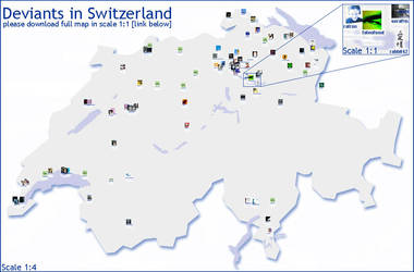 Deviants of Switzerland by ratron