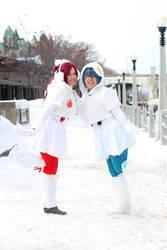 Madoka - Winter Wonderland by XNeverConformX