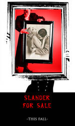 'Slander for Sale' - Poster by WillaTree