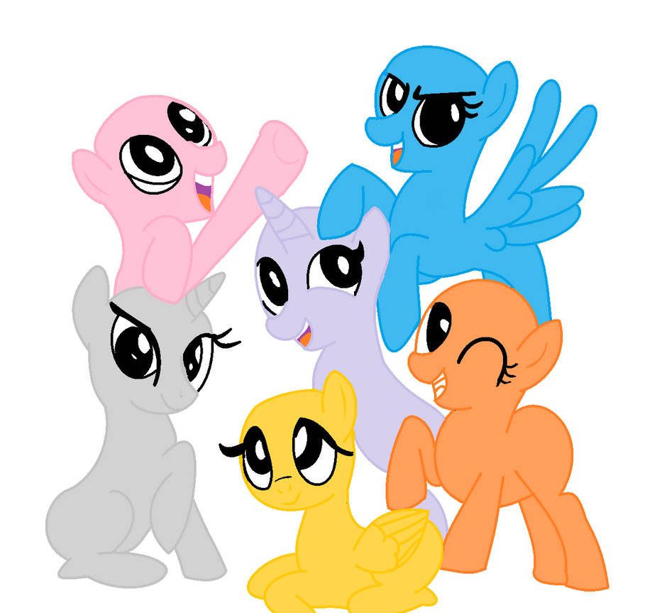Mlp Pony Base Group Www Tollebild Com