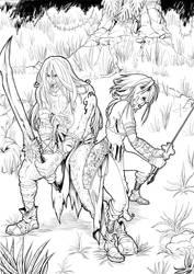 True Warriors by shinkatana