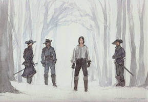 Musketeers 01d by DrawnSeawards