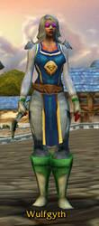 World of Warcraft Priest by Cerubus
