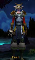 World of Warcraft Druid by Cerubus