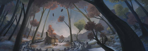 Hut by Palidoozy