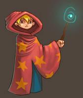 Wizard Work Doodle by Palidoozy