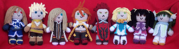 TotA - Amigurumi Party by Miss-Lanane