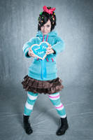 Vanellope Von Schweetz -- You're My Hero by Lisa-Lou-Who