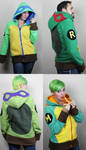 Turtle hoodies! by Lisa-Lou-Who