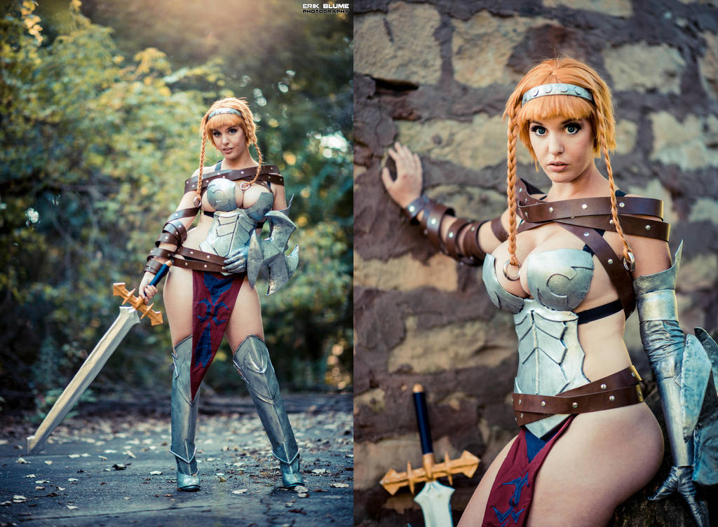 leina queen s blade cosplay by lisa lou who on deviantart