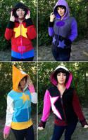 Steven Universe Hoodies! by Lisa-Lou-Who