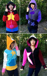 Steven Universe Hoodies! by Lisa-Lou-Who