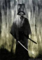 Samurai ghost by dSoto-Studio