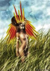 Bird of paradise by dSoto-Studio