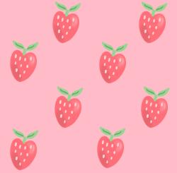 strawberry pattern by Starprincess13