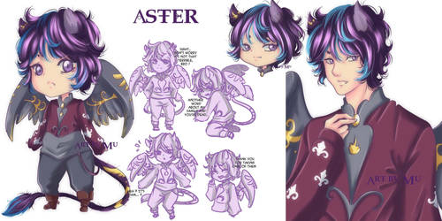 Griffin Lumios : Aster by Mu-Adopts-and-Coms
