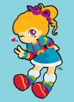 Rainbow Brite by nerdeeart