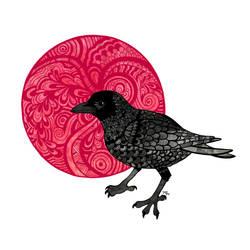 Crow by nerdeeart