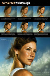 Kate Austen Portrait by mauricioestrella