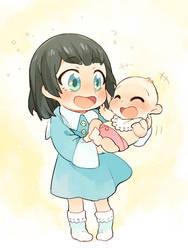 satsuki and ryuko by masssssan